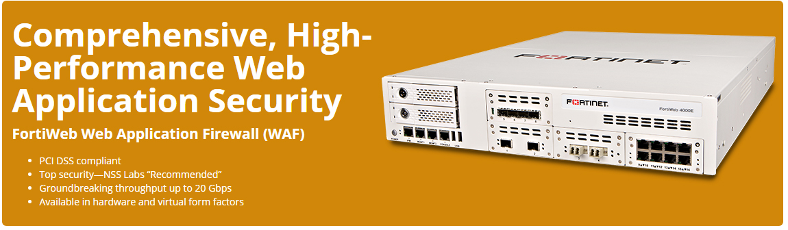 Fortinet Application Security