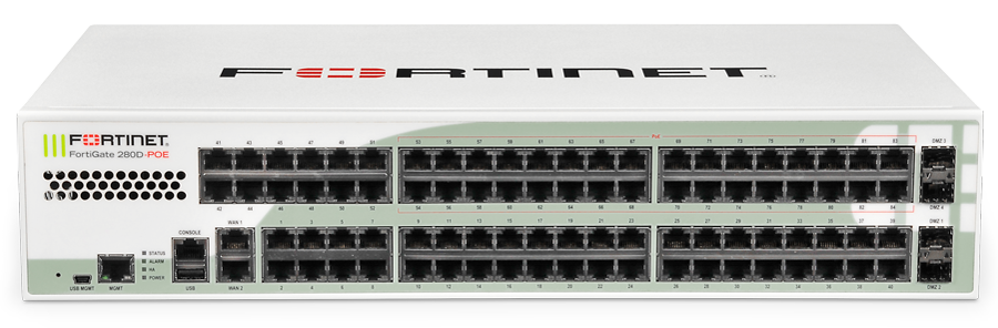 Fortinet FortiGate 280D-POE