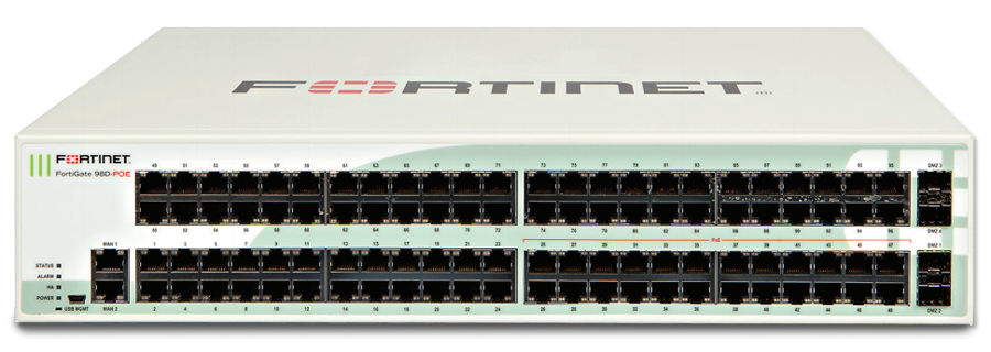 Fortinet FortiGate-98D-POE