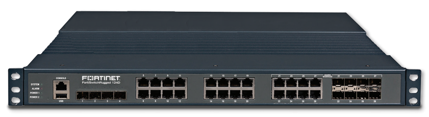 Fortinet FortiSwitchRugged 124D